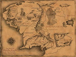 Fairy tales and fantasy literature blog archive the hobbit map middle earth gumiabroncs Image collections